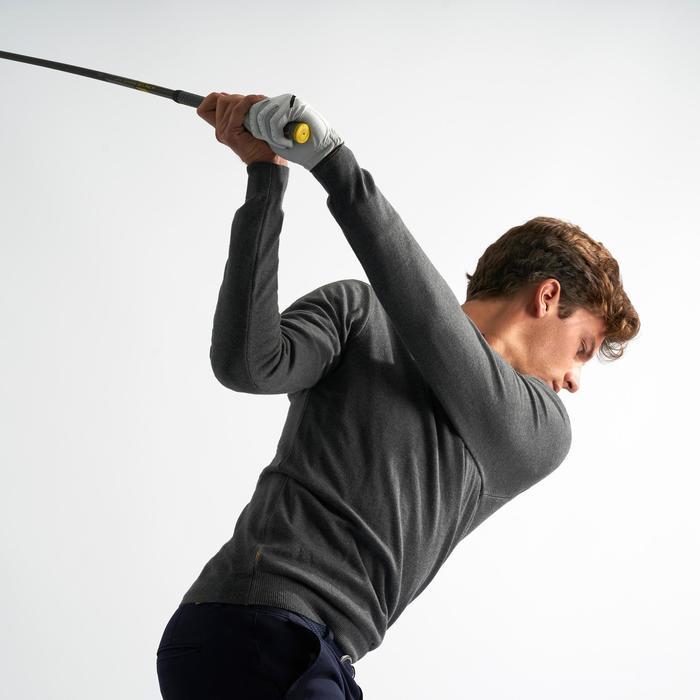 男士高尔夫套头衫 - 煤灰