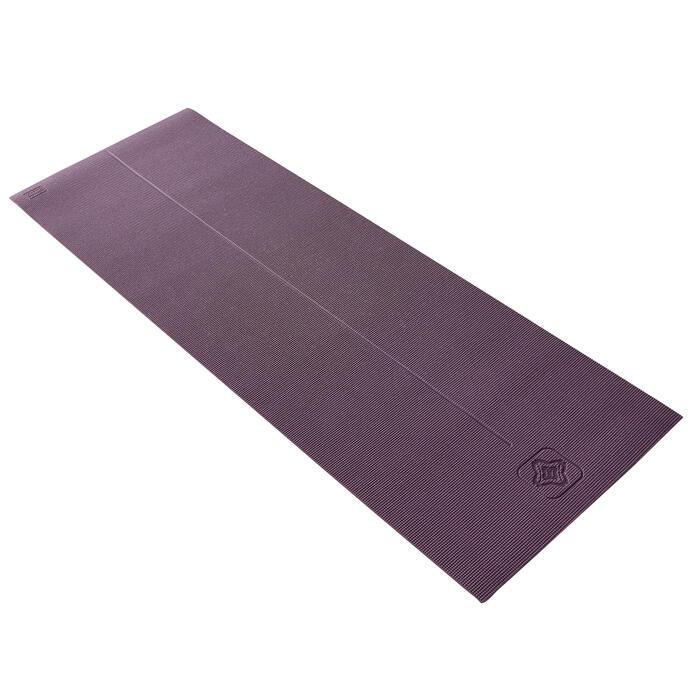 8毫米舒缓瑜伽垫 - Burgundy