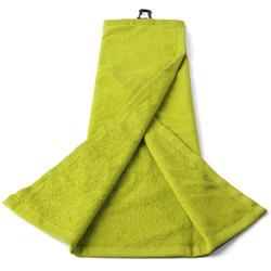 三层高尔夫毛巾-黄色