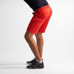 男士凉爽天气高尔夫短裤 红色
