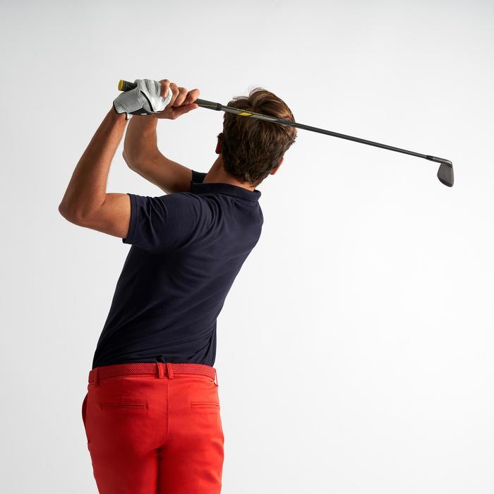 男士凉爽天气高尔夫Polo衫 500系列 海军蓝