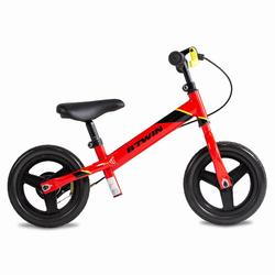 Run Ride 520 MTB RED Kids' 10 -Inch Balance Bike - RED
