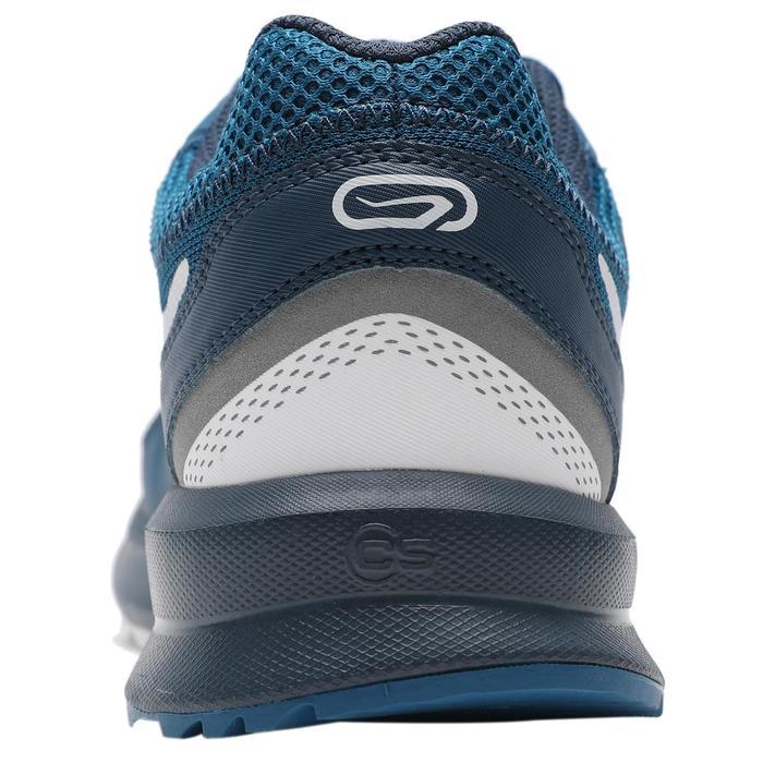 RUN ACTIVE 男式抓地跑鞋-蓝/白配色