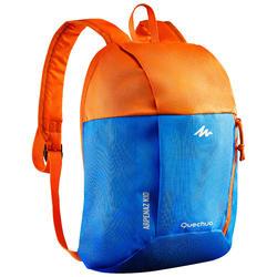 儿童徒步旅行背包 ARPENAZ 7 升 - 蓝色/橙色