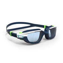 游泳眼镜500 Spirit L号 - Blue Green, Clear Lenses