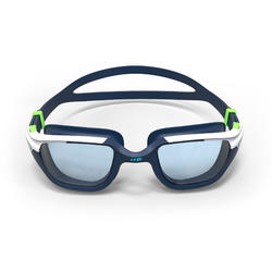 游泳眼镜500 Spirit L号 - Blue Green, Clear Lenses