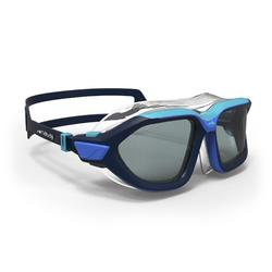 游泳眼镜500 ACTIVE ASIA S - Blue Smoke Lenses