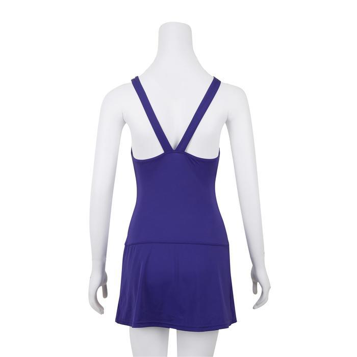 女式连体裙式泳衣Vega Ref purple
