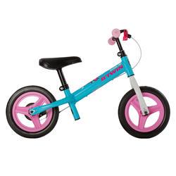 10寸儿童平衡自行车Run Ride 500 - 蓝色/粉色