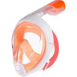 儿童全干式浮潜面罩 Easybreath (6-10 岁 / XS号) - Orange