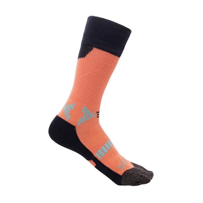 儿童篮球袜 适用于中阶篮球爱好者 - 蓝色/粉色