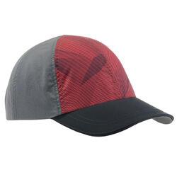 青少年儿童登山帽MH100 - 暗红色