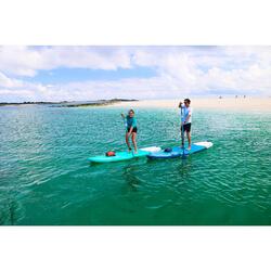 可调节两节立式桨板划桨100 170-220厘米 ORANGE