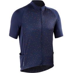 RC100 温暖天气短袖骑行运动衫-蓝色