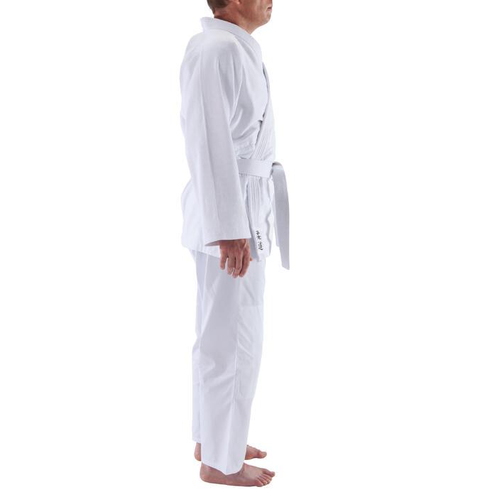 100 成人柔道服 - 白色