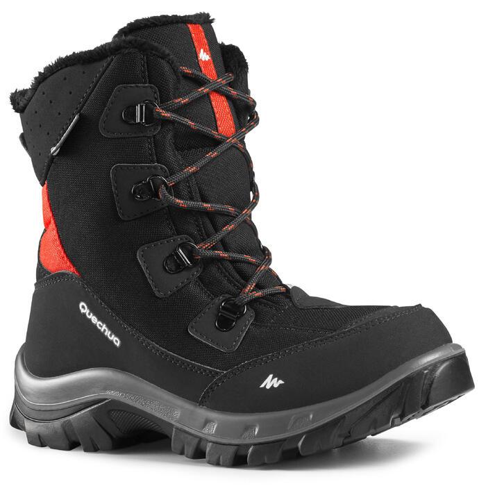雪地靴-青少年-黑 | QUEHUCA SH500