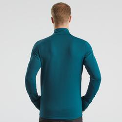 长袖T恤-男士-摇粒绒-黑色   QUECHUA SH500