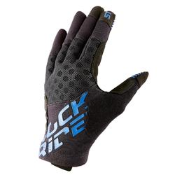 ST 500 山地自行车手套- 黑色/蓝色