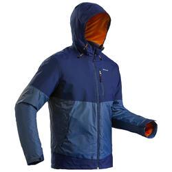 防雪夹克-男士-保暖-蓝色   QUECHUA SH100