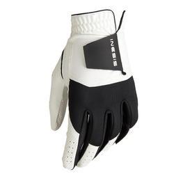 青少年高尔夫右手手套-白色