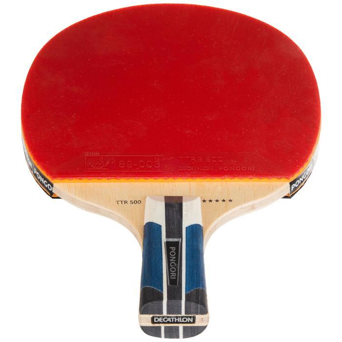 乒乓球拍TTR 500 5* 直拍+球拍套
