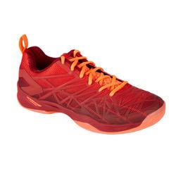 男式羽毛球室内运动鞋BS 990-红色