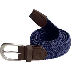 成人高尔夫可调节腰带短款-海军蓝