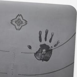 动态瑜伽垫 - 防滑款(5mm)- 灰色