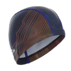 硅胶涂层网布泳帽 500 PRINT