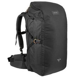 TRAVEL 100徒步旅行背包 40 升 - 黑色