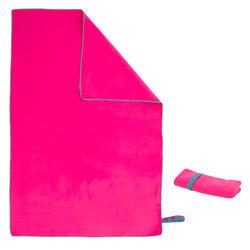 微纤维毛巾M pink