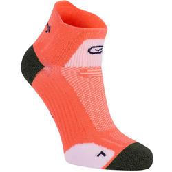 KIPRUN 薄款中筒跑步袜 - 粉色