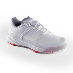 女士高尔夫球鞋防水防滑 白色