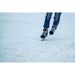 男式溜冰鞋Fit 3- Black/White