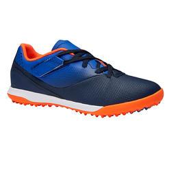 青少年碎钉足球鞋 Agility 500 HG - 蓝色/海军蓝