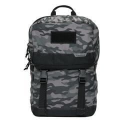 荒野探险多功能组合背包20L-黑灰迷彩