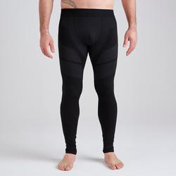 成人紧身裤Keepdry 500 - 黑色