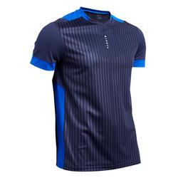 成人足球服F500 - 海军蓝