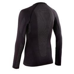 骑行训练长袖打底衣- 黑色