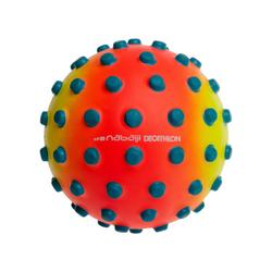 水球Orange small learning to swim ball with blue dots