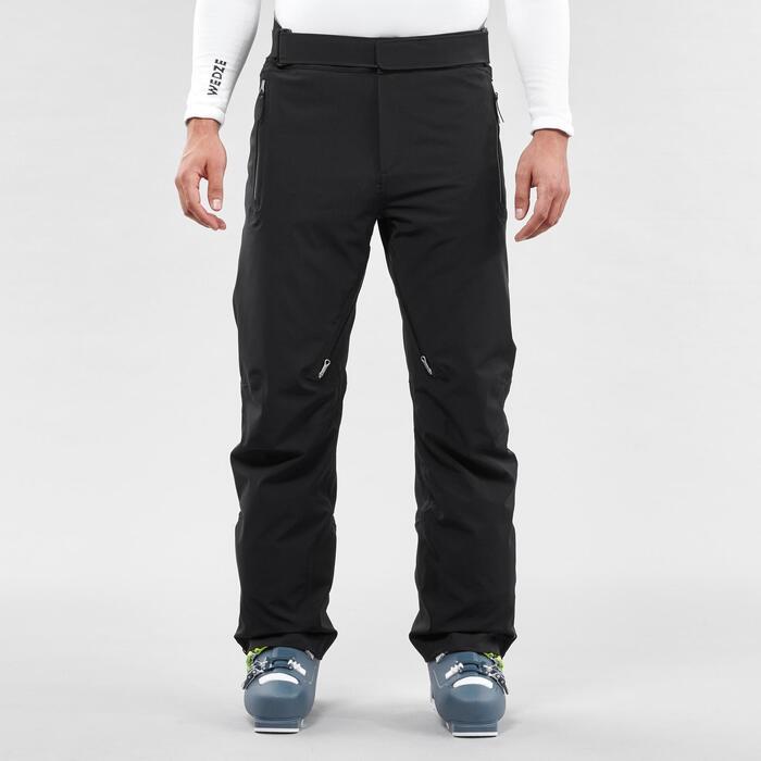 男式滑雪裤 D-SKI 980 - BLACK