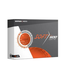 高尔夫球 Soft 500系列(12只装) 哑光橙