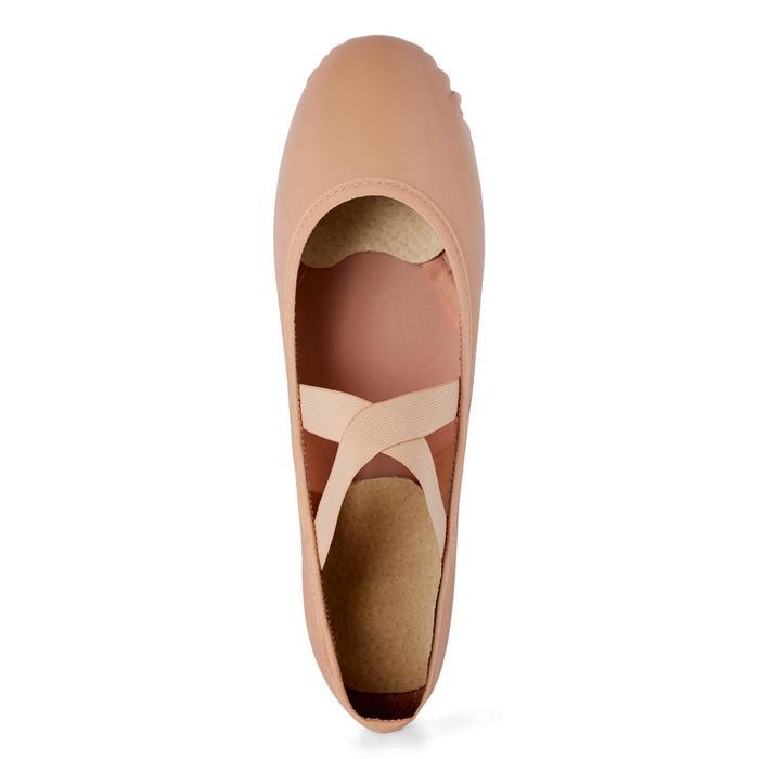 皮革二分底软足尖鞋 9.5C - 6.5