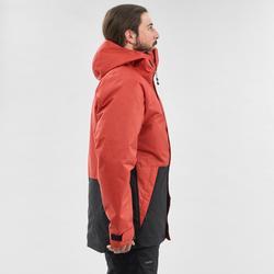 男式单板滑雪夹克SNB JKT 100 - Brick Red