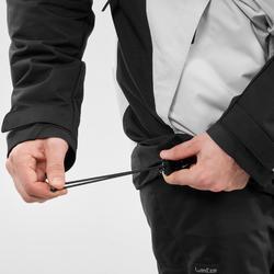 男式单板滑雪夹克SNB JKT 100 - Grey