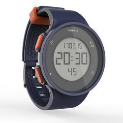 W500 M 跑步运动秒表-蓝色和橙色