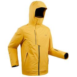 男式滑雪夹克 FR100 - Ochre