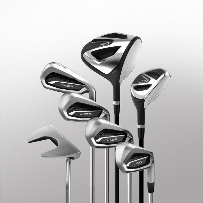 成人高尔夫7杆套杆100系列 加长款 右手球员钢制杆身