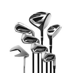 成人高尔夫7杆套杆100系列 右手短款 碳素杆身