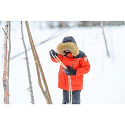 防雪大衣-男童-超保暖-灰色-7-15岁 | QUECHUA SH500